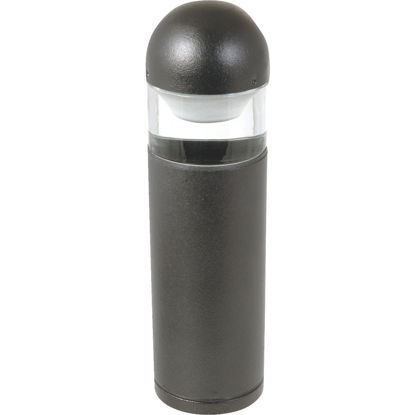Picture of Moonrays Halogen Black Low-Voltage Bollard Style Path Light