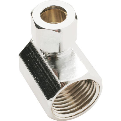 Picture of Do it 1/2 In. FIP X 3/8 In. OD Angle Connector