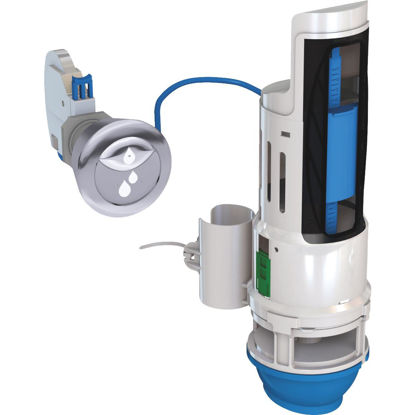 Picture of Danco HydroRight Dual Flush Valve and Push Button Handle