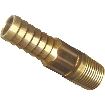 Picture of Simmons 1/2 In. MIP Brass Hose Barb Reducing Adapter