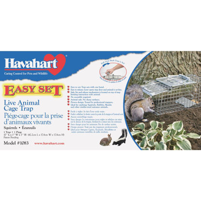Picture of Havahart Easy Set Galvanized Steel 17 In. Live Squirrel Trap