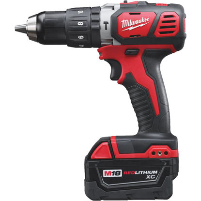 Picture of Milwaukee M18 XC 18-Volt Lithium-Ion 1/2 In. Cordless Hammer Drill Kit