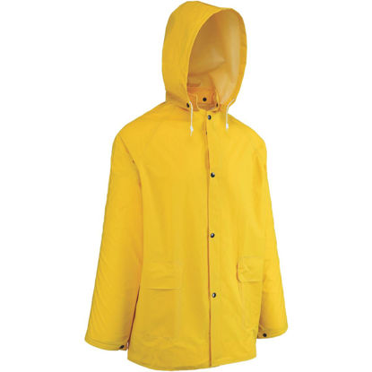 Picture of West Chester Large Yellow PVC Raincoat