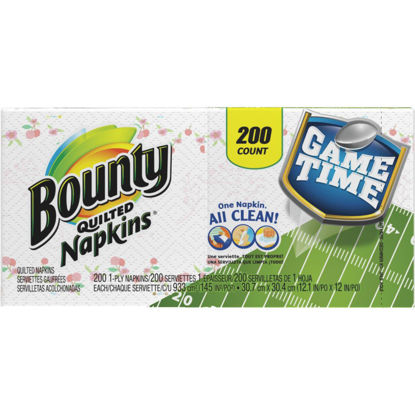 Picture of Bounty Quilted Paper Napkins (200 Count)