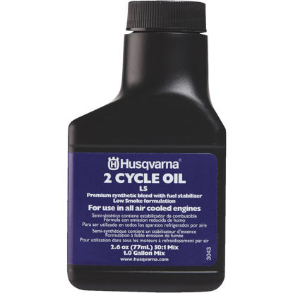 Picture of Husqvarna 2.6 Oz. Synthetic Blend 2-Cycle Motor Oil