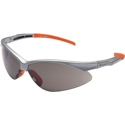 Picture of Husqvarna Gunmetal Frame Safety Glasses with Revo Mirrored Lenses