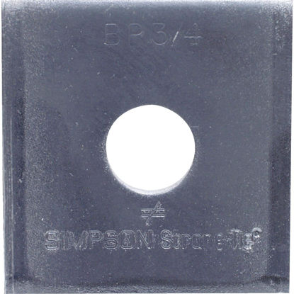 Picture of Simpson Strong-Tie 3/4. x 2-3/4 in. x 5/16 in. Steel Uncoated Bearing Plate