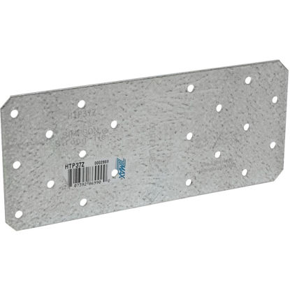 Picture of Simpson Strong-Tie 3 in. W. x 7 in. L. Galvanized Steel 16 Gauge Tie Plate