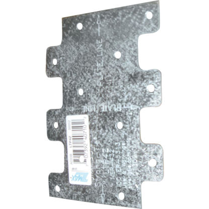 Picture of Simpson Strong-Tie 3 in. W. x 4-1/4 in. H. Galvanzied Steel 20 Gauge Tie Plate