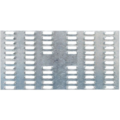 Picture of Simpson Strong-Tie 3 in. W x 6 in. L Galvanized Steel 20 Gauge Mending Plate