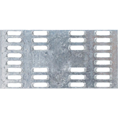 Picture of Simpson Strong-Tie 2 in. W x 4 in. L Galvanized Steel 20 Gauge Mending Plate
