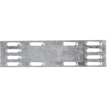 Picture of Simpson Strong-Tie 1 in. W x 4 in. L Galvanized Steel 20 Gauge Mending Plate
