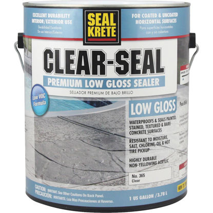 Picture of Seal Krete Clear-Seal Low VOC Acrylic Concrete Sealer, 1 Gal.