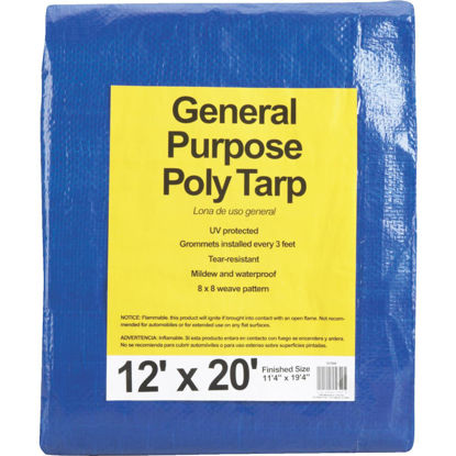 Picture of Do it Blue Woven 12 Ft. x 20 Ft. General Purpose Tarp