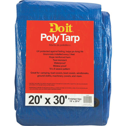 Picture of Do it Blue Woven 20 Ft. x 30 Ft. Medium Duty Poly Tarp