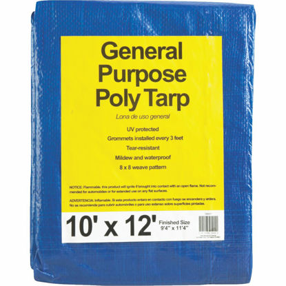 Picture of Do it Blue Woven 10 Ft. x 12 Ft. General Purpose Tarp