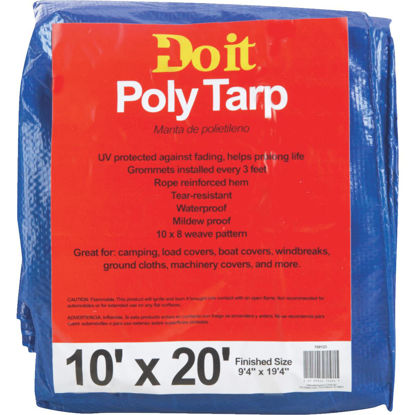 Picture of Do it Blue Woven 10 Ft. x 20 Ft. Medium Duty Poly Tarp