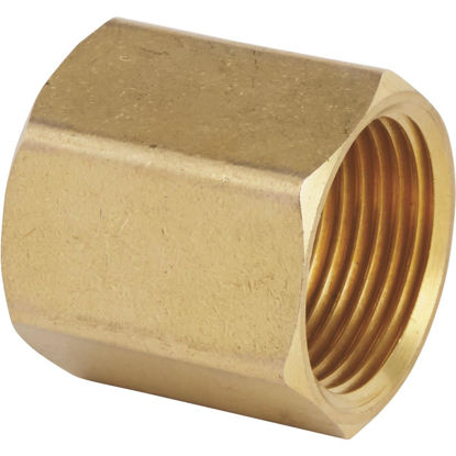 Picture of Best Garden 3/4 In. FNH x 3/4 In FNPT Brass Non-Swivel Hose Connector