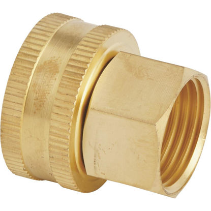 Picture of Best Garden 3/4 In. FNH x 1/2 In FNPT Brass Swivel Hose Connector