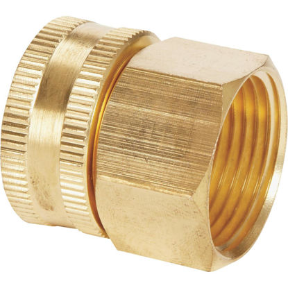 Picture of Best Garden 3/4 In. FNH x 3/4 In FNPT Brass Swivel Hose Connector