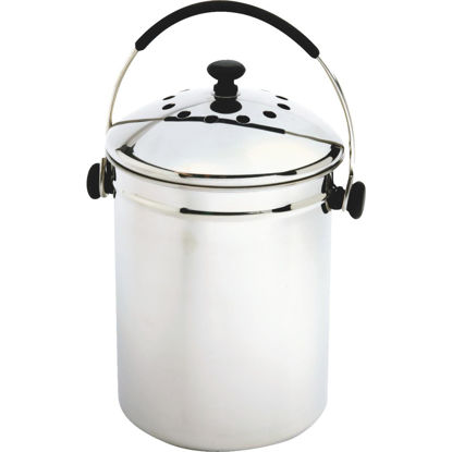 Picture of Norpro 1 Gallon Stainless Steel Compost Keeper