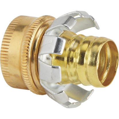 Picture of Best Garden 3/4 In. Female Brass Hose Coupling Mender