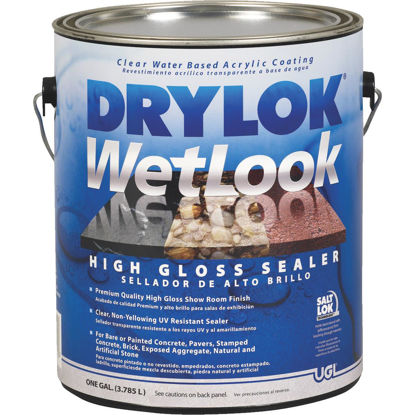 Picture of Drylok Wetlook Clear Concrete Sealer, 1 Gal.
