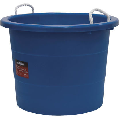 Picture of United Solutions 19 Gal. Blue Utility Tub