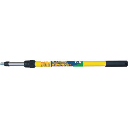 Picture of Premier 2 Ft. To 4 Ft. Telescoping Fiberglass & Stainless Steel External Twist Extension Pole