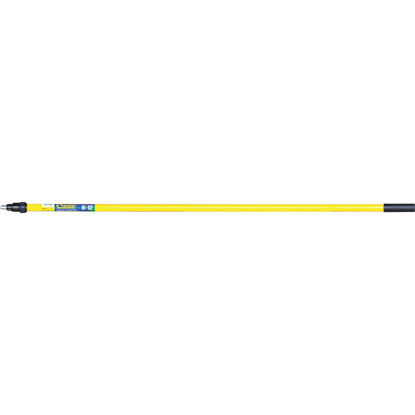 Picture of Premier 6 Ft. To 12 Ft. Telescoping Fiberglass & Stainless Steel External Twist Extension Pole