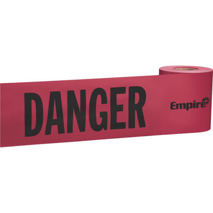 Picture of Empire 3 In. W x 200 Ft. L Danger Caution Tape