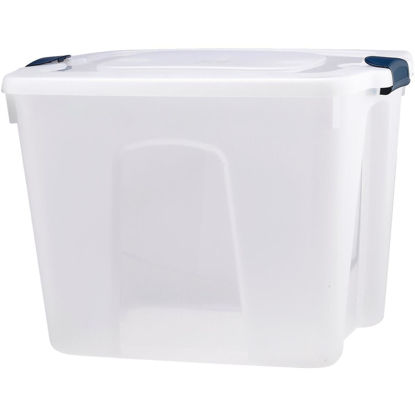 Picture of Homz 20 Gal. Clear Advantage Storage Tote