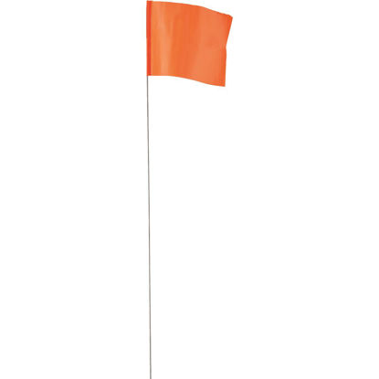 Picture of Empire 21 In. Steel Staff Orange Marking Flags