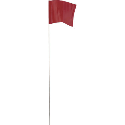 Picture of Empire 21 In. Steel Staff Red Marking Flags