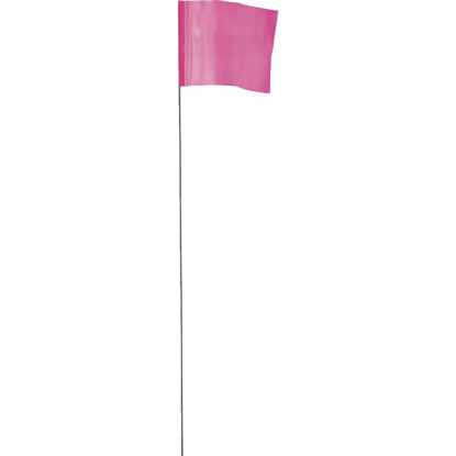 Picture of Empire 21 In. Steel Staff Pink Marking Flags