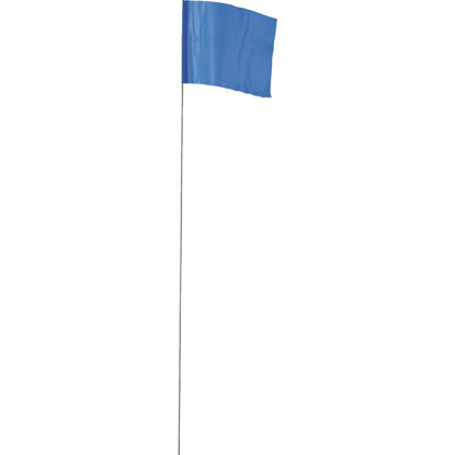 Picture of Empire 21 In. Steel Staff Blue Marking Flags