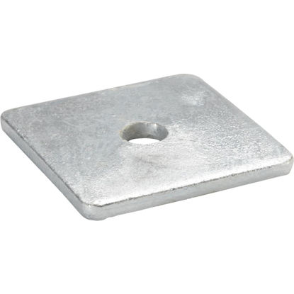 Picture of Grip-Rite 1/2 In. Steel Hot Galvanized Square Washer (50 Ct.)