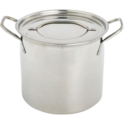 Picture of Remedy Essentials 8 Qt. Polished Stainless Steel Stockpot
