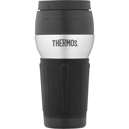 Picture of Thermos 14 Oz. Black Stainless Steel Insulated Tumbler