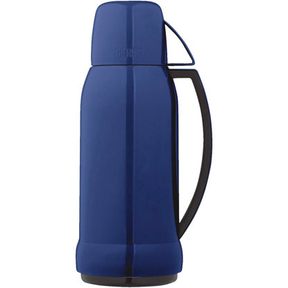 Picture of Thermos Arc 35 Oz. Red or Blue Plastic Insulated Vacuum Bottle
