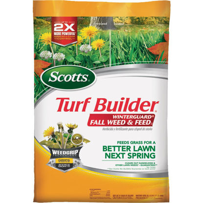 Picture of Scotts Turf Builder WinterGuard Weed & Feed 14.29 Lb. 5000 Sq. Ft. 28-0-6 Winterizer Fall Fertilizer