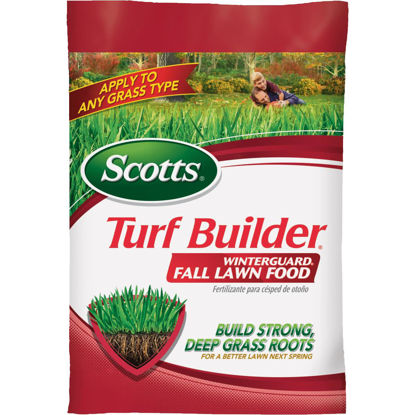 Picture of Scotts Turf Builder WinterGuard 12.5 Lb. 5000 Sq. Ft. 32-0-10 Winterizer Fall Fertilizer