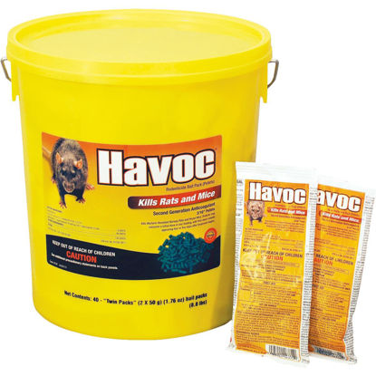Picture of Havoc Pellet Bait Pack Rat And Mouse Poison (40-Pack)