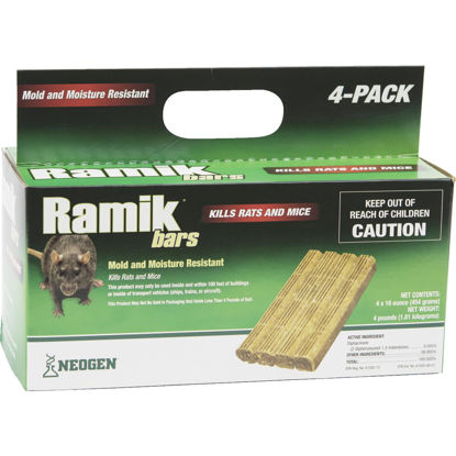 Picture of Ramik Bar Rat And Mouse Poison (4 per Box)