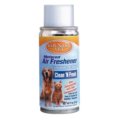 Picture of Country Vet 6.6 Oz. Clean 'n Fresh Fragrance Metered Spray Refill