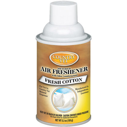 Picture of Country Vet 6.6 Oz. Fresh Cotton Fragrance Metered Spray Refill