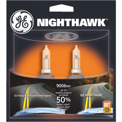 Picture of GE Nighthawk 55W Sport Replacement Halogen Automotive Headlight (2-Pack)