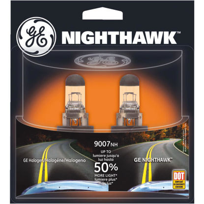 Picture of GE Nighthawk 55/65W Sport Replacement Halogen Automotive Headlight (2-Pack)