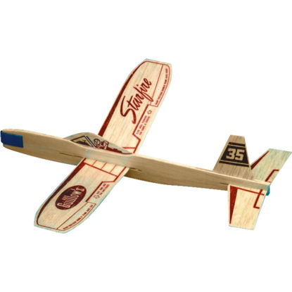 Picture of Paul K Guillow Starfire 12 In. Balsa Wood Glider Plane