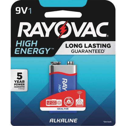 Picture of Rayovac High Energy 9V Alkaline Battery